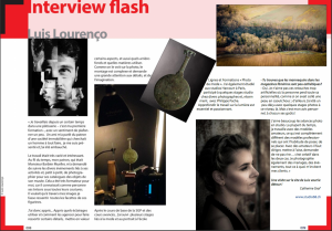 2018Interview flash Luis Lourenço MAG