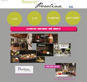 site www.restaurant-porolina.com